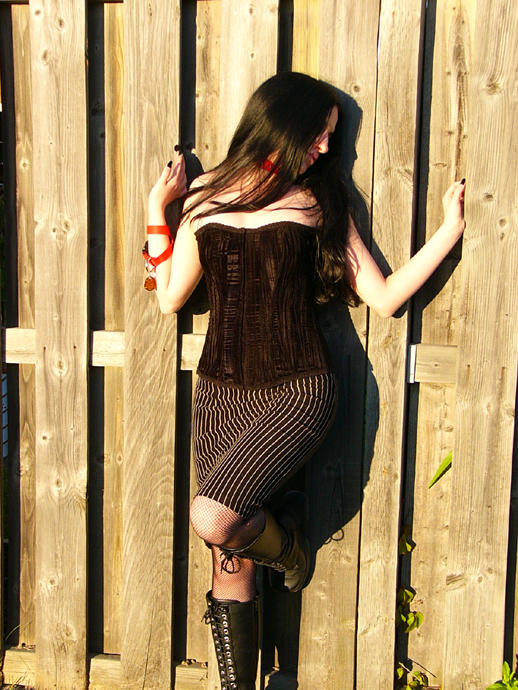 Pinstripes and Corsets II by aridia
