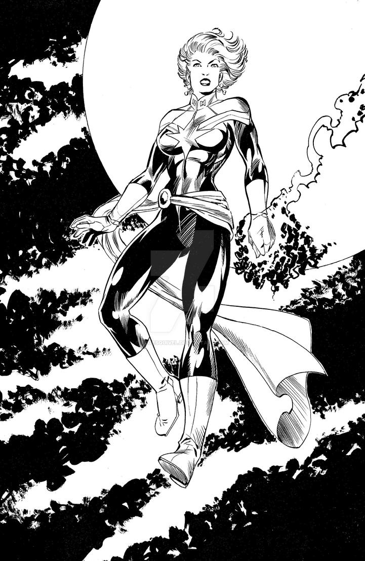 CaptainMarvel1 by fcoesquivel