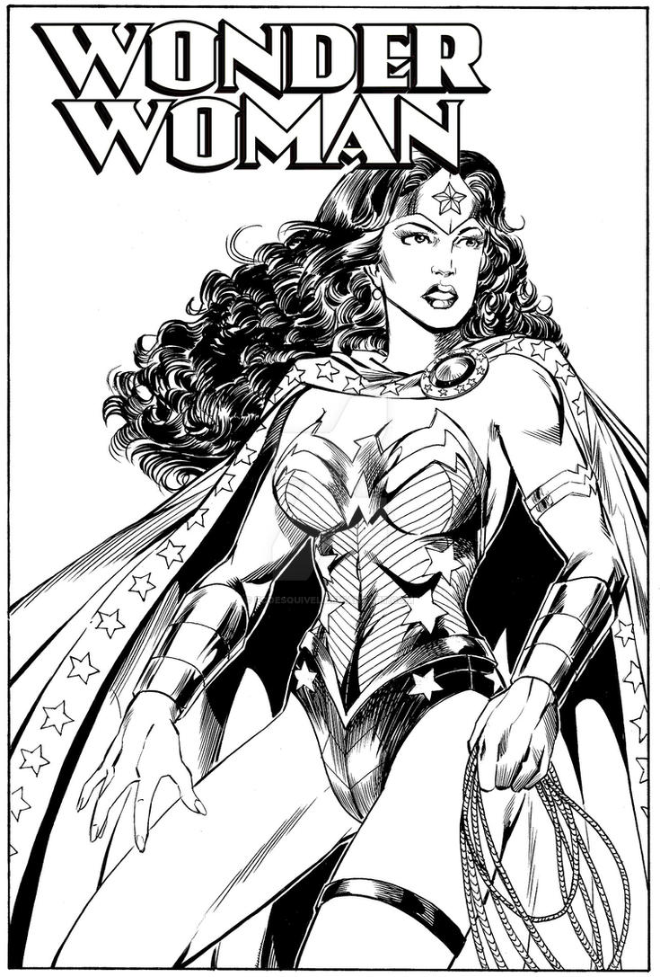 Wonder Woman by fcoesquivel