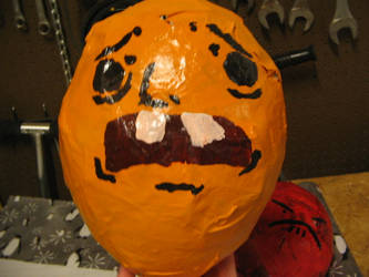 Oh Shit Plz Papier Mache by LoverlyMadhatter
