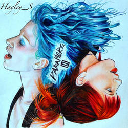 Paramore fanart by Samdrak