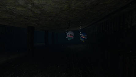 Oshawott and Piplup lost in a sunken ship!