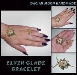 Elven Glade Bracelet by NessaSilverwolf