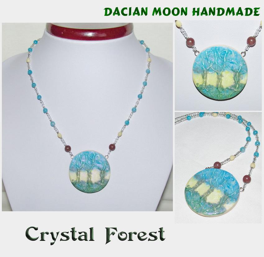 Crystal Forest by NessaSilverwolf