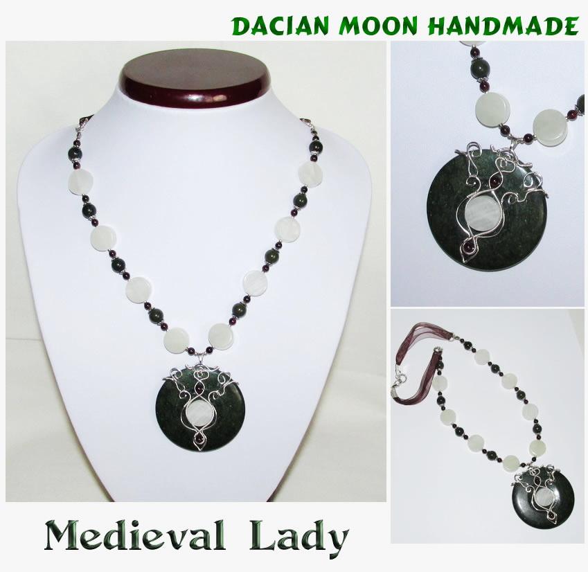 Medieval Lady by NessaSilverwolf