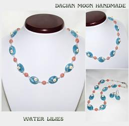 Water Lilies jewelry set