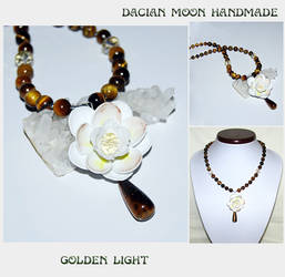 Golden Light necklace