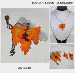 Autumn jewelry set