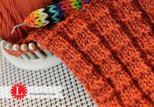 Loom Knit Rib Stitch Hat : LoomKnitArt DeviantArt Gallery