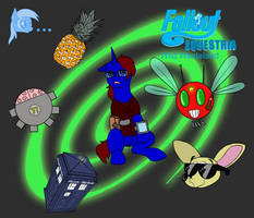 Fallout Equestria: Wild Wasteland Cover by ClickClacktheBrony