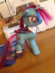 Bluette Indigo HARAJUKU PONY PLUSH by Cipple