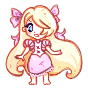 ADOPTABLE_OPEN Rapunzel Pixel Pagedoll by Cipple