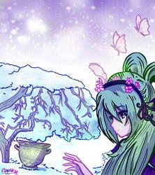 visual novel CG by Cipple