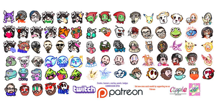 STREAMERs and GAMERS ART ON PATREON