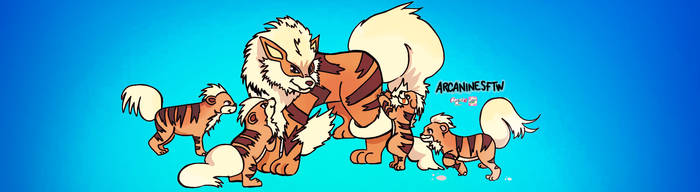 YOU TUBE arcanine daddy commission by Cipple