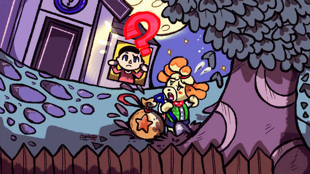 SO THIS IS BASICALLY ANIMAL CROSSING by Cipple