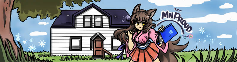 BLOGGER HEADER COMMISSION by Cipple