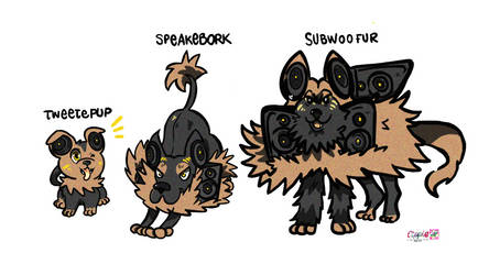 fakemon commission by Cipple