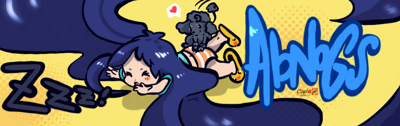twitch banner commission by Cipple
