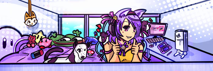 TWITCH BANNER commission