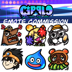ANIMAL CROSSING EMOTE COMMISSION