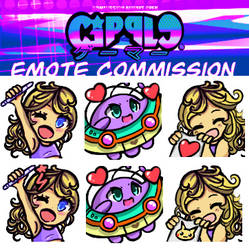 MY CHANNEL NEW EMOTES!!