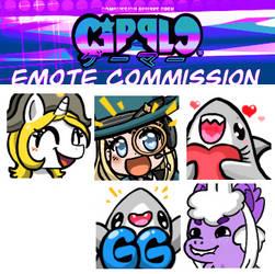 Emote commission