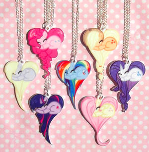 My Little Pony Friendship is Magic necklaces