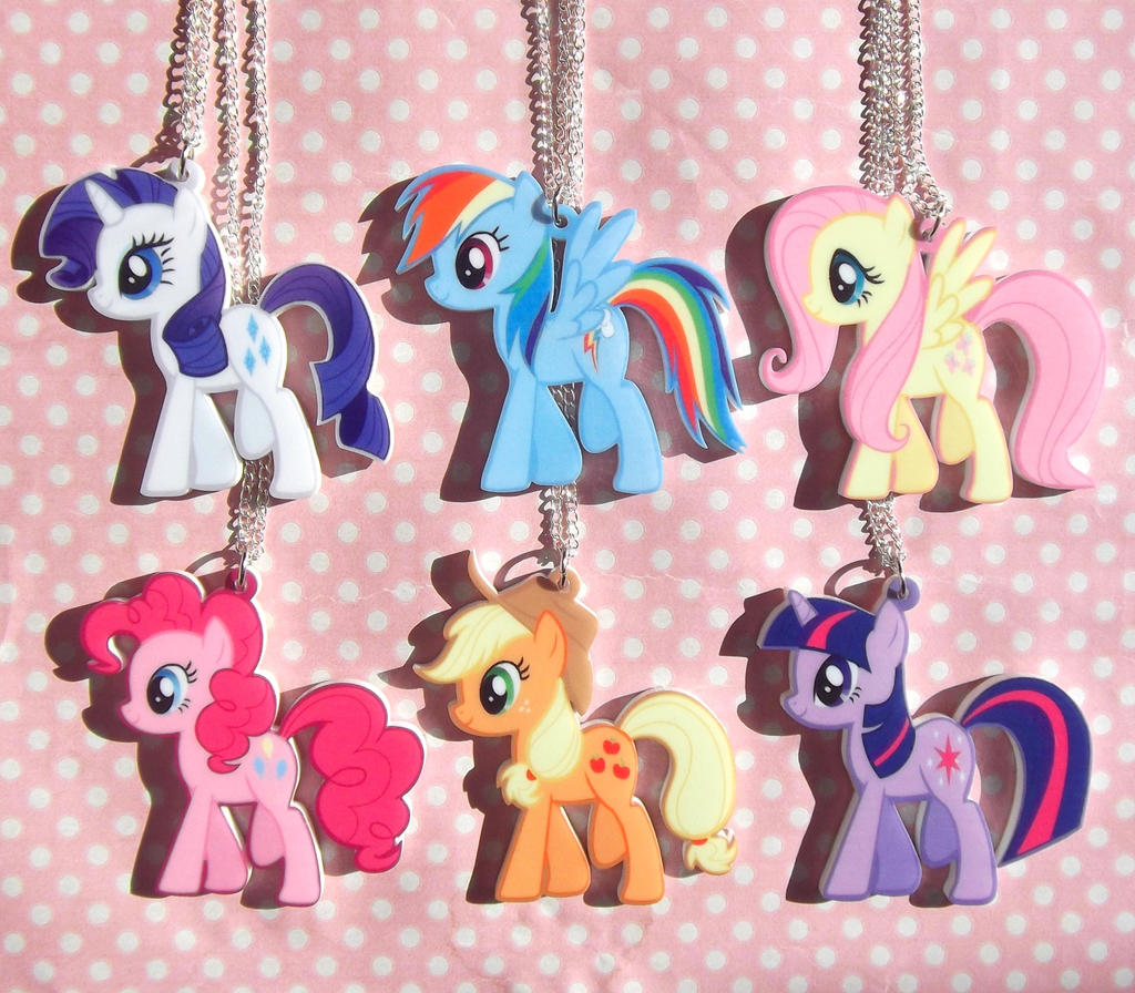 My little pony friendship is magic necklaces by kawaiimoon24 on my little pony friendship is magic necklaces by kawaiimoon24 mozeypictures Images