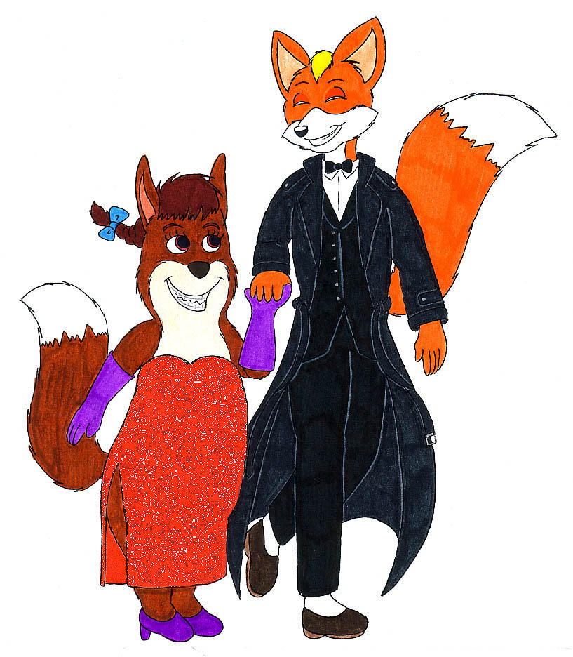 First Date with Foxy Loxy by fox-mccloud on DeviantArt
