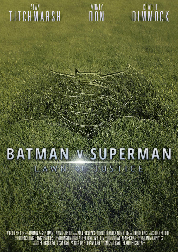 Batman V Superman - Lawn of Justice by Lykeios-UK