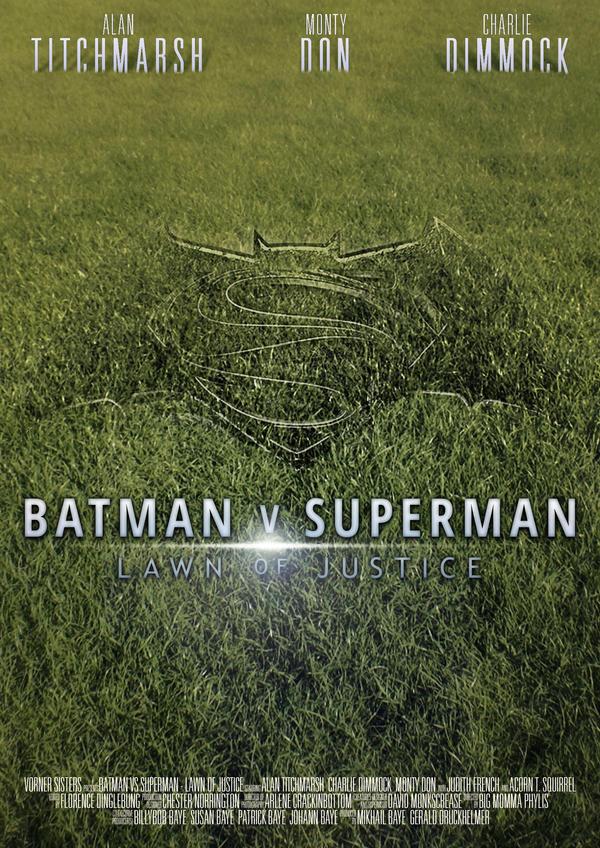 Batman V Superman - Lawn of Justice by Lykeios-UK