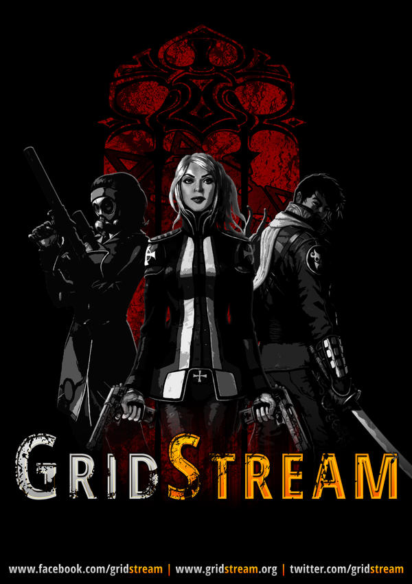 GridStream - Poster by Lykeios-UK