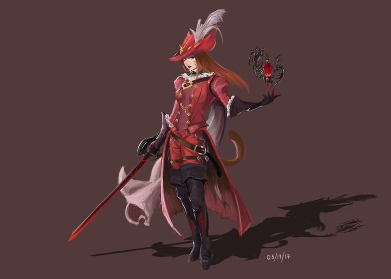FFXIV Stormblood Red Mage By Y2LXIII