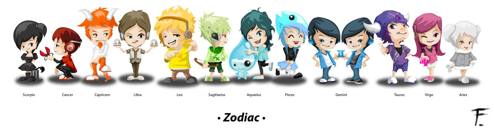Zodiac by fer-fer
