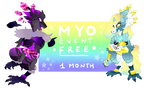 [OFFICIAL] FREE MYO EVENT 1 MONTH by mrmemxed