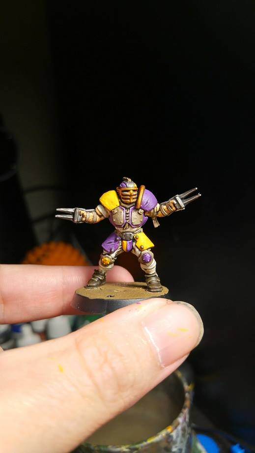 Blood Bowl player by Brother-Maynard