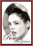 Rose McGowen Pinup Style