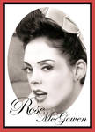 Rose McGowen Pinup Style