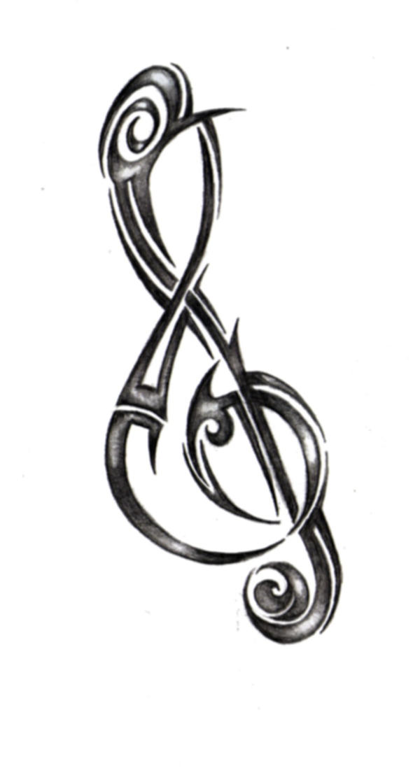treble clef by remnantrising on deviantart. Black Bedroom Furniture Sets. Home Design Ideas