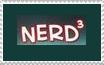 Nerd Cubed/ Nerd^3 stamp by HetaVocaCore