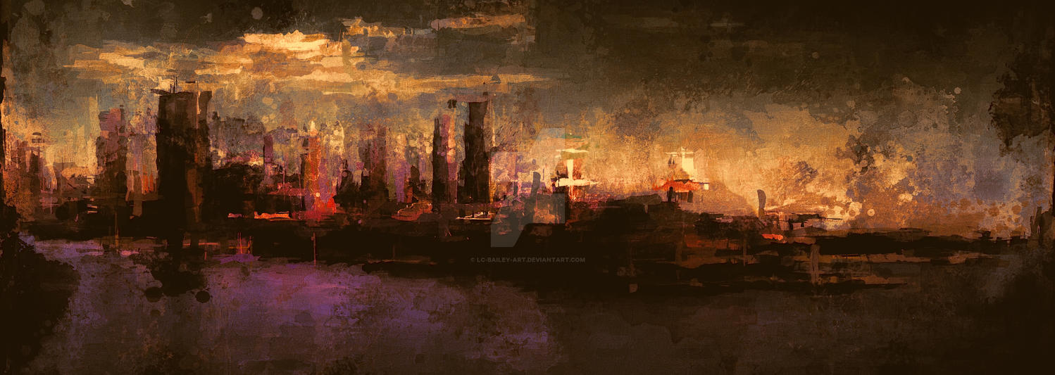 City-On-The-Sea-II by LC-Bailey-Art