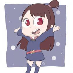 Cute chibi Akko