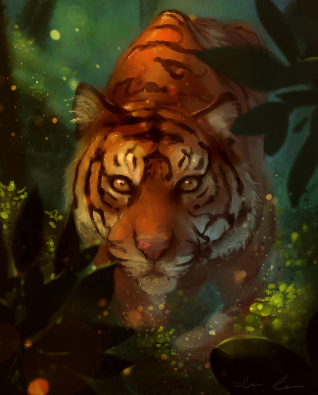 Tiger by India-Lee