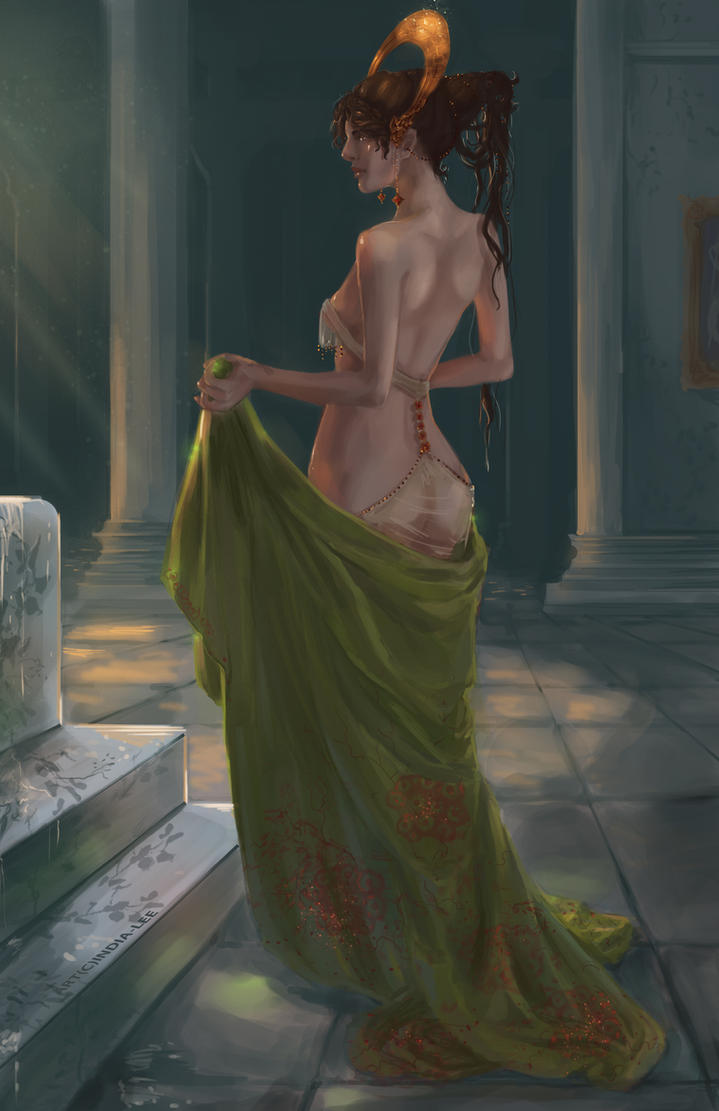 Bath of Persephone by India-Lee
