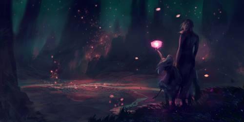 Lanterns Sketch by India-Lee