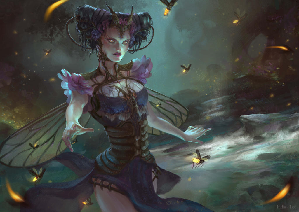 Firefly Queen by India-Lee