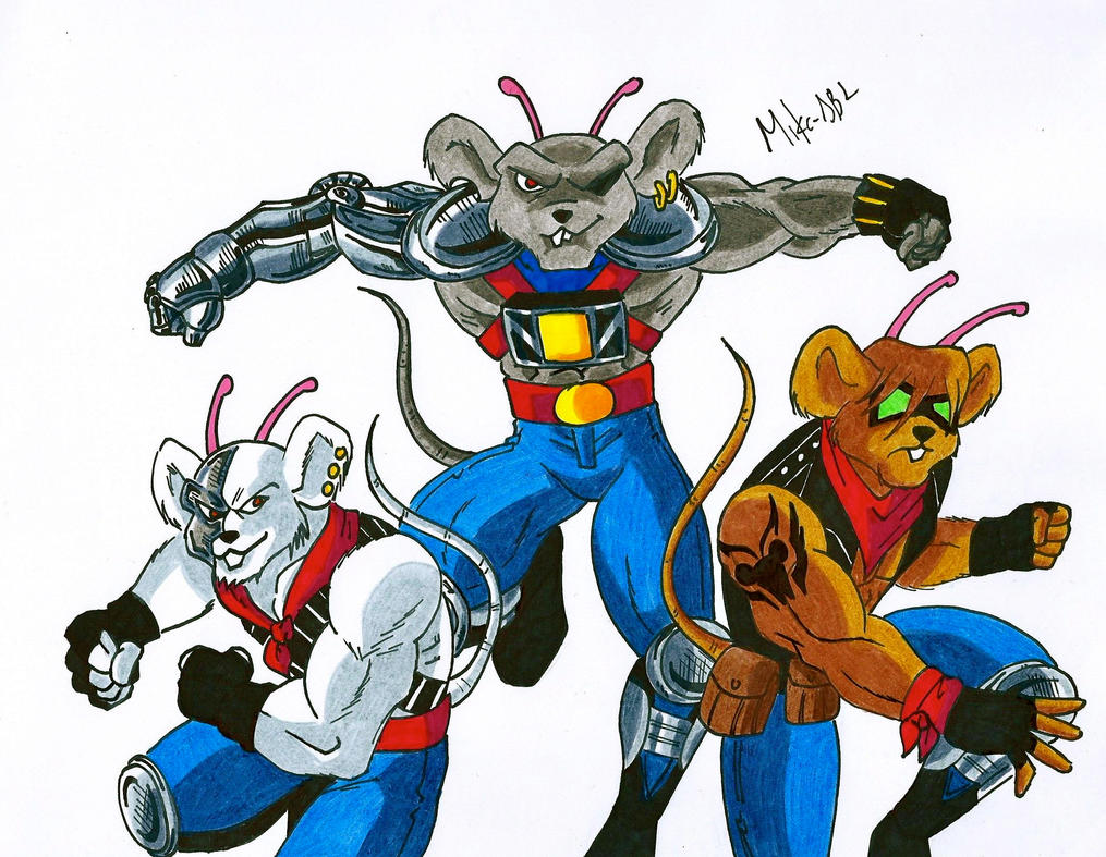 biker mice from mars as female - photo #6
