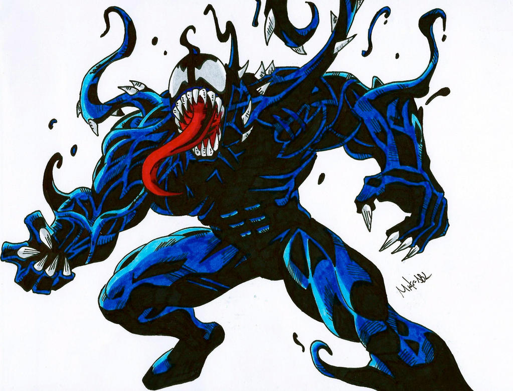 ultimate venom spiderman - photo #3
