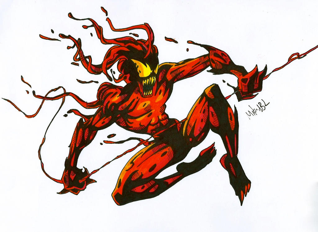 Ultimate Carnage by MikeES on DeviantArt